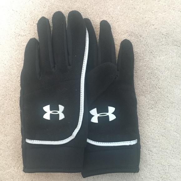 Under Armour Fleece Gloves w Hidden Pocket Sz M. M 5a427f4d8290af38ea05732c a7e45dbc9a3b
